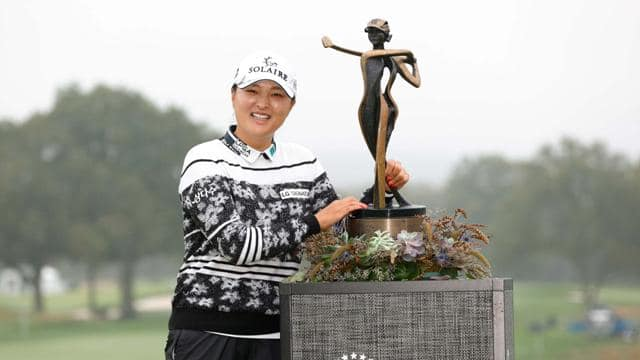 Jin Young Ko ties Annika record for wire-to-wire victory at Founders Cup