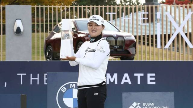 Jin Young Ko rallies to win BMW Ladies Championship in playoff